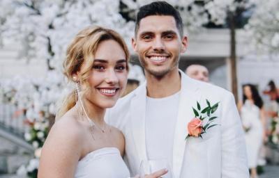 Медовий місяць у США: подробиці весілля «холостяка» з Чернівців