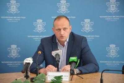 Скільки у січні заробив заступник мера Чернівців Середюк