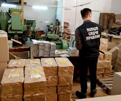 У Чернівцях викрили підпільний цех з виробництва сигарет, які збували по Україні та ЄС