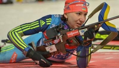 """Біатлон: Підгрушна здобула """"срібло"""" чемпіонату Європи"""