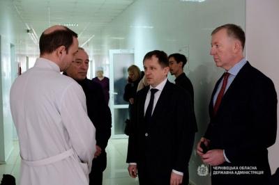 Заступник секретаря РНБО назвав проблеми інфекційного відділення лікарні в Чернівцях