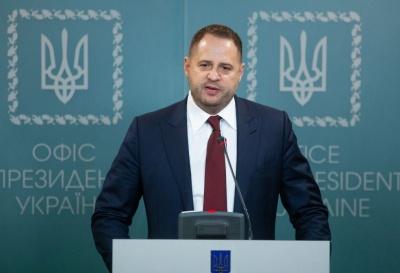 Керівник ОП обговорив питання обміну утримуваними особами з російським куратором бойовиків ОРДЛО