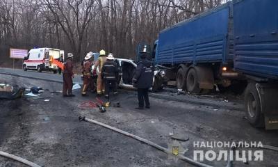На Харківщині у жахливій ДТП загинули 4 особи