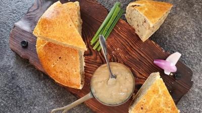 Пісний гречаний пиріг із картоплею: покроковий рецепт