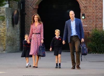 Герцоги Кембриджські розказали, чим люблять займатися їхні старші діти