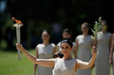 Глядачів не пустять на церемонію запалювання олімпійського вогню