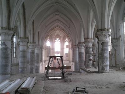 Невідома Буковина: у підвалі костелу - цинкові гроби
