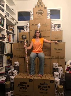 Австралійка купила туалетний папір на 3264 долари