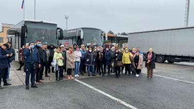 У Словенії затримали автобуси з українцями, які поверталися з Італії додому