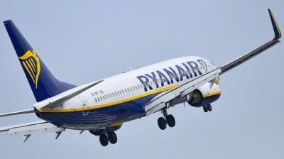 Лоукостер Ryanair скасовує рейси з України до Польщі та Іспанії