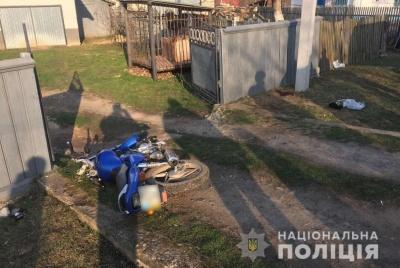 Врізався у стовп: у ДТП на Буковині загинув мотоцикліст