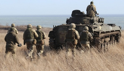 На Донбасі бойовики застосовують міномети та ПТРК, двоє українських військових поранені