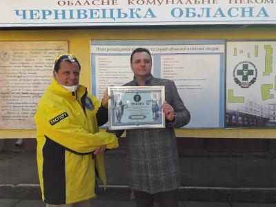 Перший українець, що перехворів на COVID-19, відреагував на відзнаку про «рекорд» Чернівецької лікарні