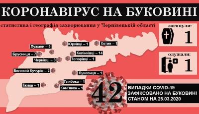 Коронавірус атакує Буковину: що відомо на цей час