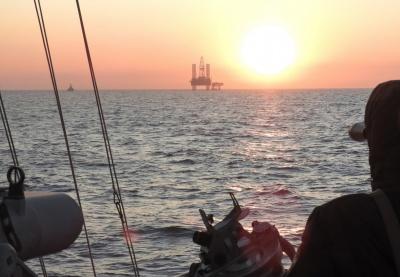 Російський катер увірвався до морської зони України – відео