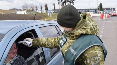 Прикордонники заявили про неефективність вимірювання температури на кордоні