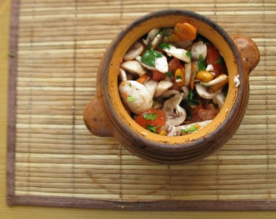 Три рецепти пісних страв з грибами на кожен день