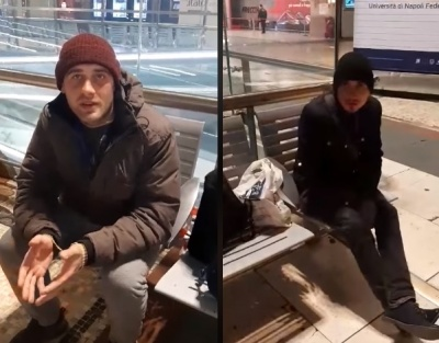 Шість днів жили на вокзалі: двоє заробітчан з Буковини не можуть повернутися додому з Італії