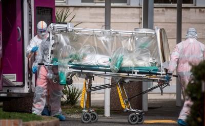 Італія оновила сумний рекорд. За добу 969 осіб померли від COVD-19