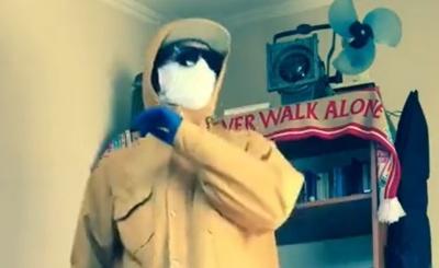 Чернівчанин записав кумедне відео про карантин у Facebook