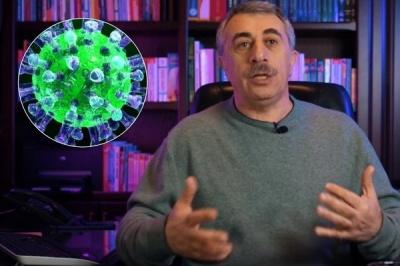 «Більше вуглеводів і солодких напоїв»: Комаровський порадив, що їсти хворим на коронавірус