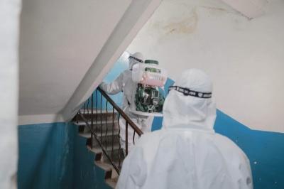 Відсьогодні в Чернівцях будуть дезінфікувати під'їзди і ліфти