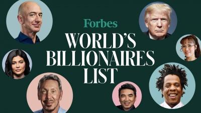 Forbes опублікував цьогорічний рейтинг багатіїв. До списку потрапили шестеро українців