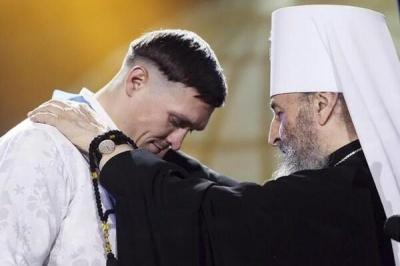 «Тільки щоб кістки не ламати»: митрополит Онуфрій дозволив Усику бити депутатів