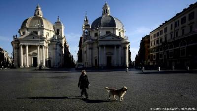 Уряд Італії подовжив суворі обмеження через коронавірус