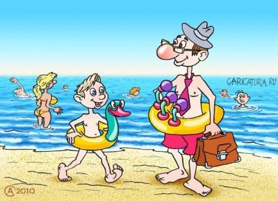 Анекдот дня: про нудистський пляж