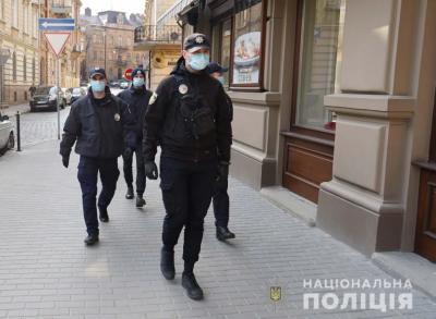 Поліція відкрила 56 кримінальних справ через порушення карантину