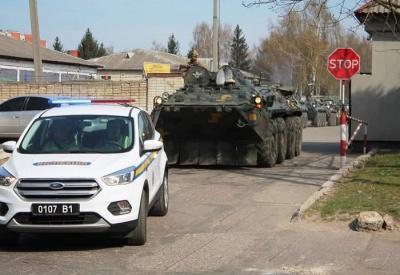 На заході України розпочалися військові навчання