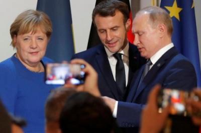 """Макрон вважає, що Путін """"обов'язково погодитися"""" на припинення вогню"""