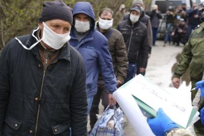 На Донбасі відбувся обмін утримуваними особами