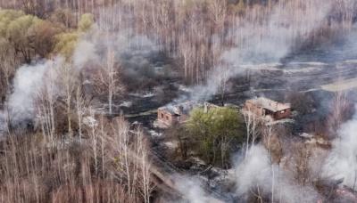 """ДСНС попереджає про шахраїв, які збирають кошти на """"ліквідацію пожежі під Чорнобилем"""""""