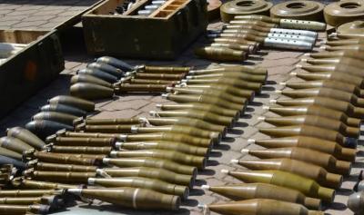 На Донеччині та Дніпропетровщині виявили рекордний арсенал незаконної зброї