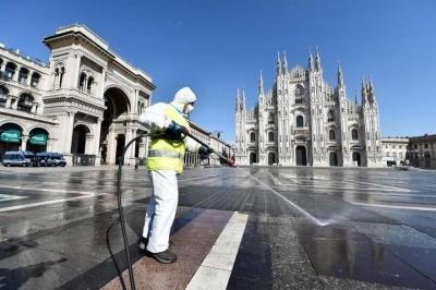 В Італії продовжує знижуватися смертність від коронавірусу