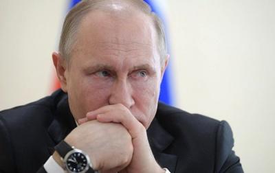 У РФ офіційний рейтинг Путіна впав до мінімуму за 20 років