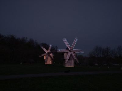 У Чернівцях планують підсвітити вітряки та ворота музею під відкритим небом