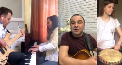 Джем на карантині: Віктор Павлік онлайн виконав відому пісню з Буковини
