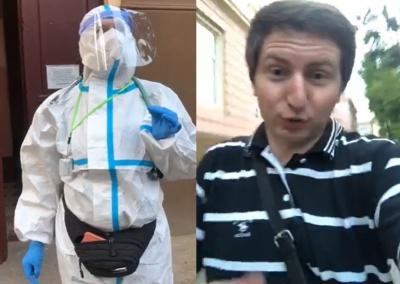 Блогер влаштував скандал у Чернівецькій обласній лікарні: медики викликали поліцію – відео
