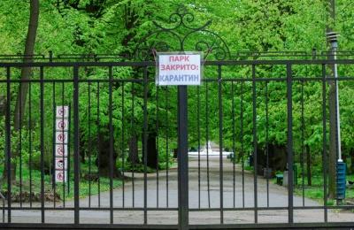 Головний санлікар визнав, що парки та сквери закривали заради психологічного ефекту