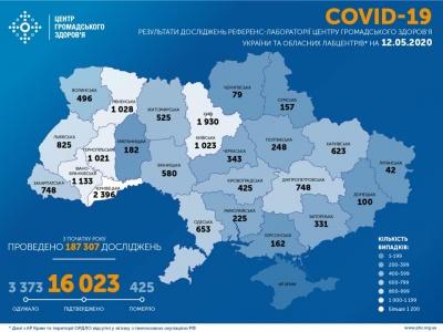 В Україні кількість хворих на COVID-19 перевищила 16 тисяч - інфографіка