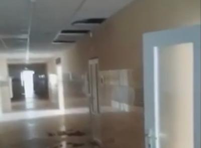 У перинатальному центрі в Чернівцях уже обвалилась волога стеля – відео