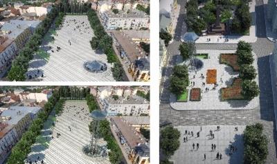 У центрі Чернівців може з'явитись оглядовий майданчик: з'явились фото проекту