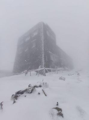 У високогір'ї Карпат випало 15 см снігу