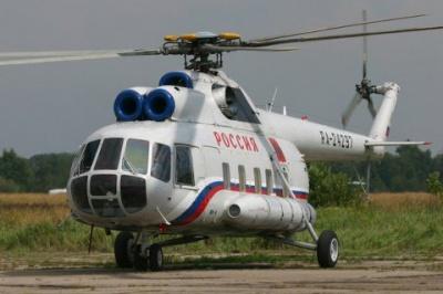 У Росії розбився військовий гелікоптер. Загинули 4 особи