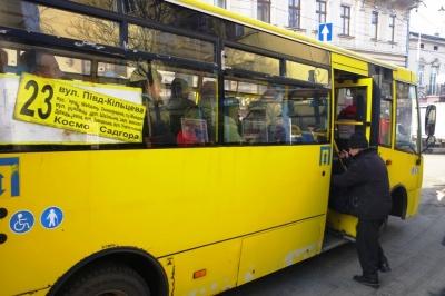 У Чернівецькій міськраді відсутні дані про маршрутки, які сьогодні відновили роботу, – чиновник