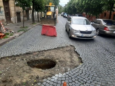 У Чернівцях до кінця дня перекриють одну з вулиць через ремонтні роботи