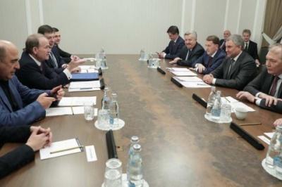 Офіс генпрокурора зобов'язали розслідувати поїздку нардепів від ОПЗЖ у Росію як держзраду